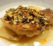 Schweinekoteletts mit Chorizofüllung aus dem Ofen