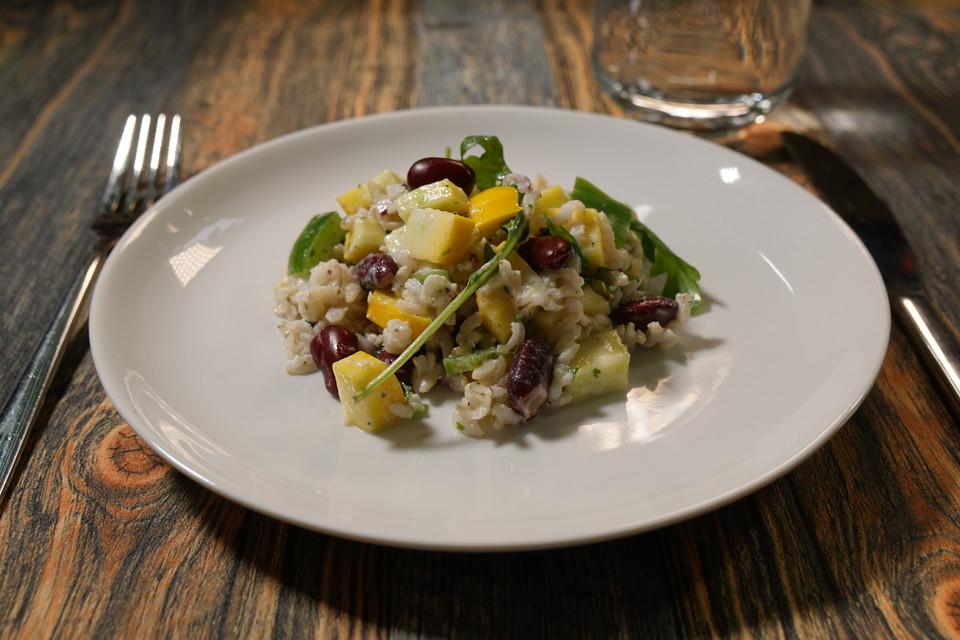 zucchini reis salat rezept mit bild von natuerlichlecker. Black Bedroom Furniture Sets. Home Design Ideas