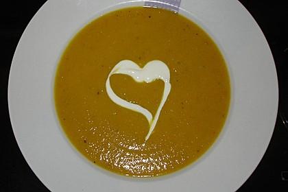 cremige butternut-kürbissuppe (rezept mit bild) von stuffyd ... - Kürbissuppe Rezept Chefkoch