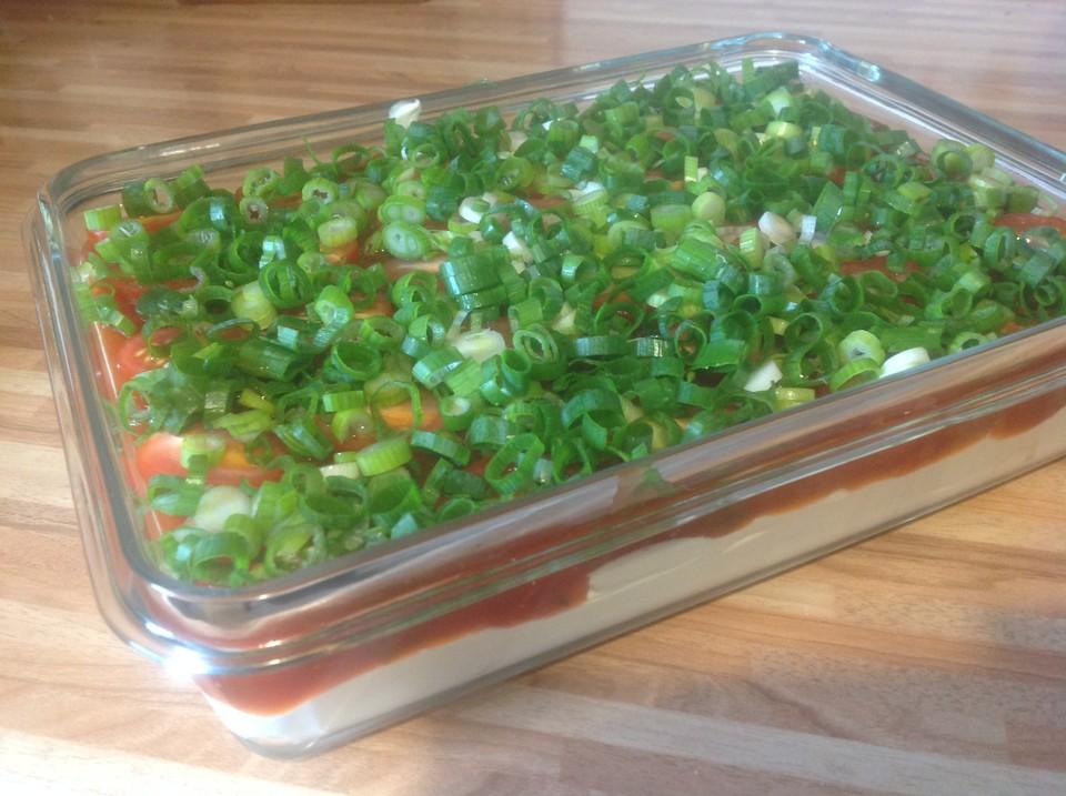 salsa frischk se dip rezept mit bild von cookingwunderb rchen. Black Bedroom Furniture Sets. Home Design Ideas