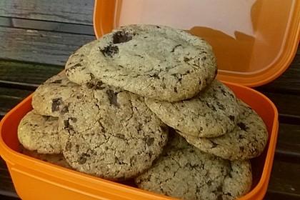 Vegane Chocolate Chip Cookies 1
