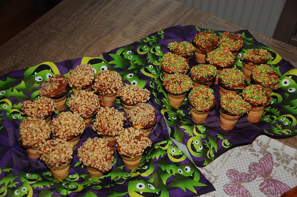 Kinder rezepte mit mini muffins dekoration - Dekoration muffins ...