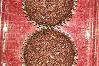 Low Carb Schoko Muffins mit Kokosöl