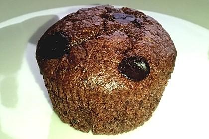 Low Carb Schoko Muffins mit Kokosöl 1