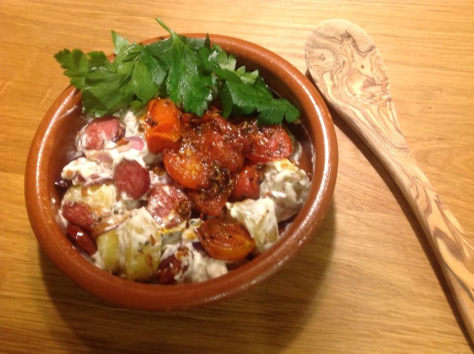 kartoffelsalat mit gurken und tomaten rezepte suchen. Black Bedroom Furniture Sets. Home Design Ideas