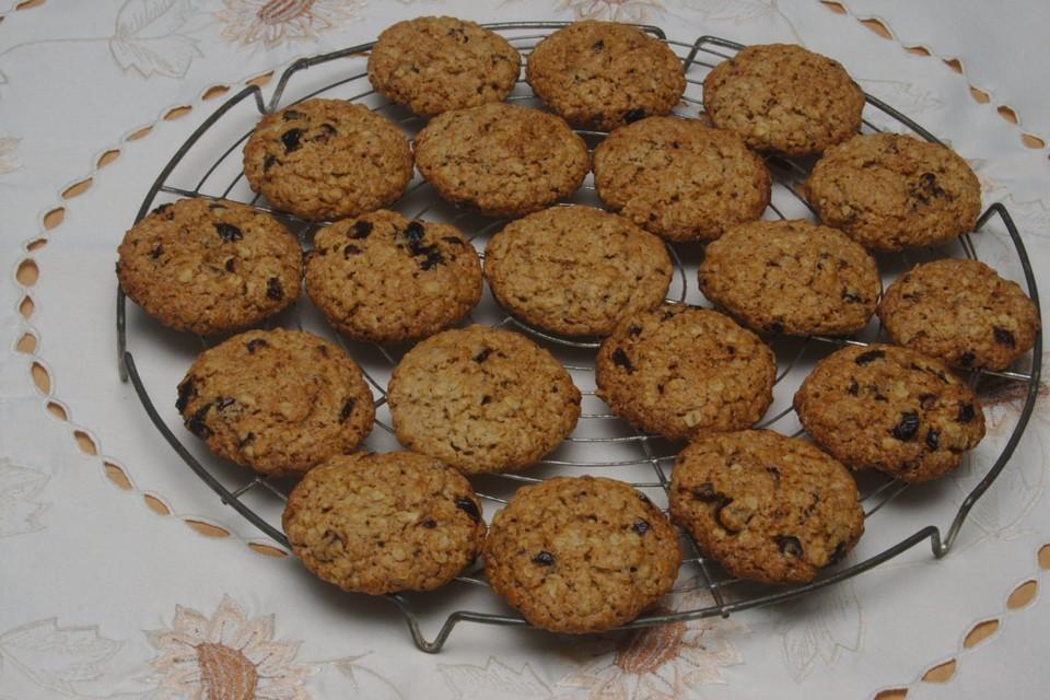 cranberry haferflocken cookies rezept mit bild von tatunca. Black Bedroom Furniture Sets. Home Design Ideas