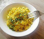 Gelber Reis indonesische Art (Bild)