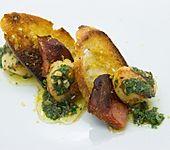 Jakobsmuschel mit Zimtgremolata auf Chorizo