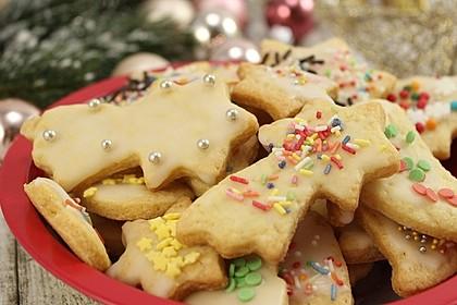 Klassische Weihnachtskekse