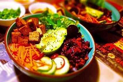 Tofu Banh mi Bowl