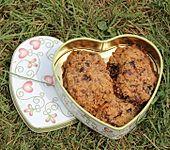 Schokoladen-Cranberry-Cookies (Bild)