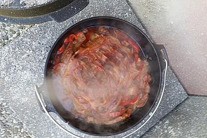 Schichtfleisch aus dem Dutch Oven 9