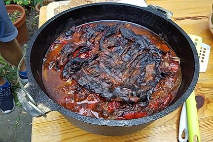 Schichtfleisch aus dem Dutch Oven 8