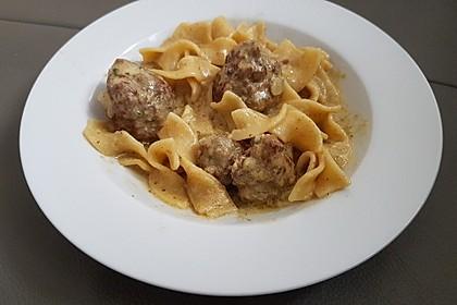 One Pot Swedish Meatballs 4