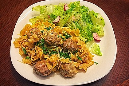One Pot Swedish Meatballs 6