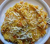 Risotto alla Zucca - Reis mit Kürbiscreme