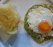 Uova con salsa di zucchine