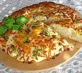 Schinken-Käse-Focaccia