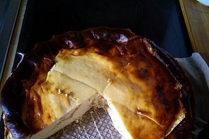 Bodenloser low carb Käsekuchen mit Äpfeln 7