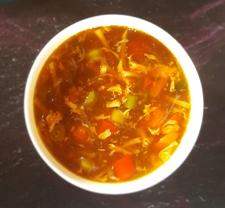 vegetarische chinesische s sauer scharfe suppe von kleinegiulia. Black Bedroom Furniture Sets. Home Design Ideas