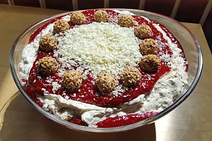 Giotto-Mascarpone-Dessert mit Himbeeren 1