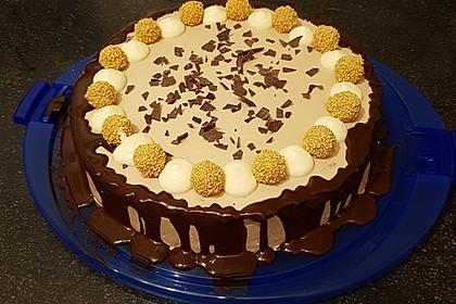 Schokoladige Butterkekstorte 1