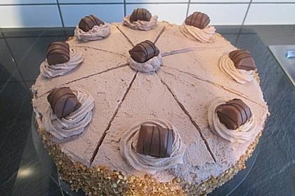 Einfache Bueno-Torte