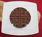 Kakao-Waffeln (Bild)