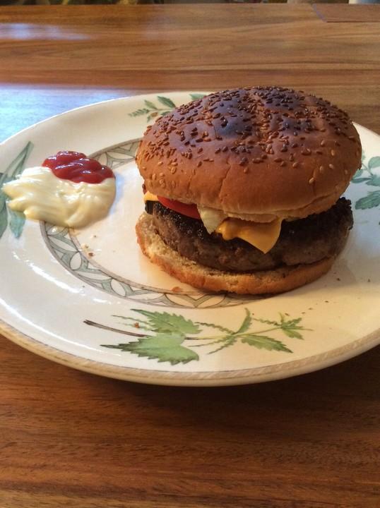 burger patties rezept mit bild von beekaa. Black Bedroom Furniture Sets. Home Design Ideas