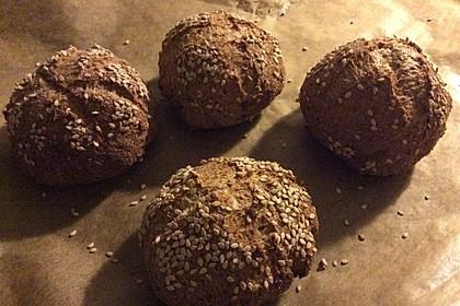 Kartoffelfaser-Kleie-Brötchen 1