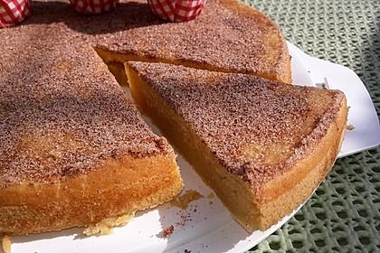 Apfel-Vanille-Amaretto-Puddingkuchen 1