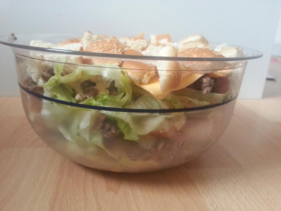 big mac salat rezept mit bild von meikapa. Black Bedroom Furniture Sets. Home Design Ideas