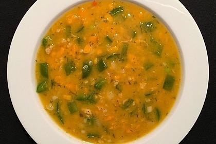 Süßkartoffel-Paprika-Suppe