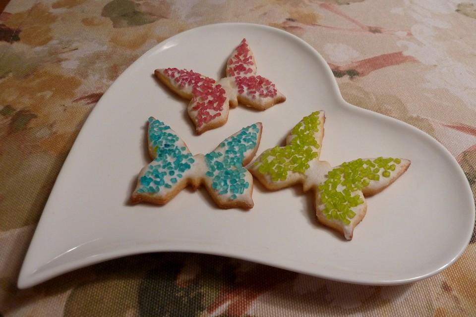 Schmetterlinge Bunt Und Suss Von Lowewip Chefkoch De