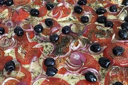 """""""Französische"""" Pizza"""