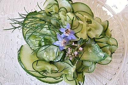 Gurken salat mit essig