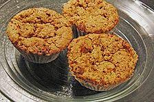 Möhrenkuchen oder -muffins
