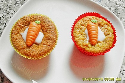 Möhrenkuchen oder -muffins 7