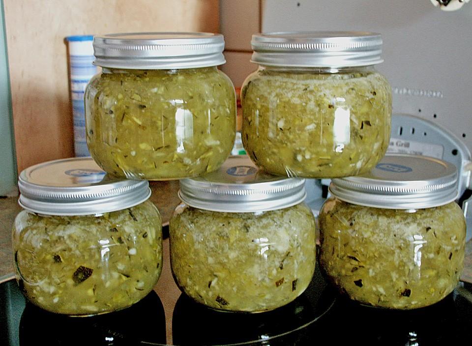 apfel zucchini konfit re mit minze von azahar. Black Bedroom Furniture Sets. Home Design Ideas