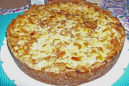 Apfel - Mandel Torte