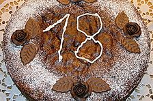 Leckerer Wiener Schokoladenkuchen
