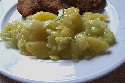 Schwäbischer Kartoffelsalat 1