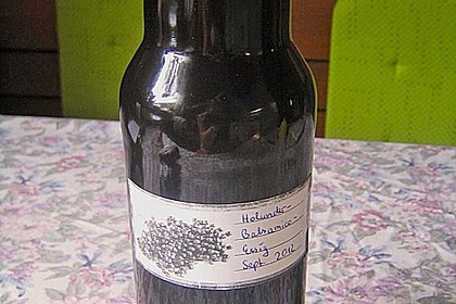 Holunder - Balsamico - Essig 5