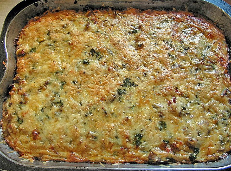 Pizza Mit Kloßteig