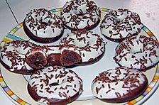 Schoko - Donuts aus der Form