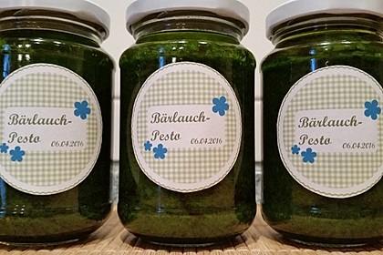 Bärlauch - Pesto 16