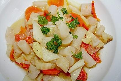 Schwarzwurzel - Gemüse - Eintopf 0