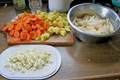 Schwarzwurzel - Gemüse - Eintopf 6