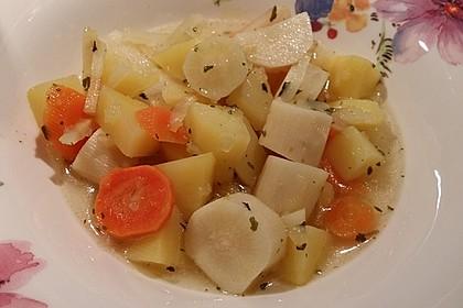 Schwarzwurzel - Gemüse - Eintopf 3
