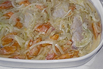 Aprikosen - Curry - Hähnchen 7